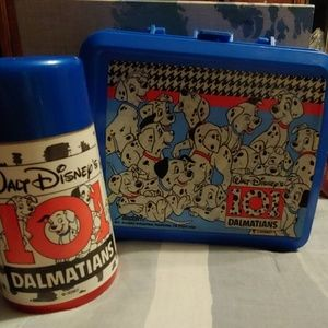 101 Dalmations lunch box with thermos